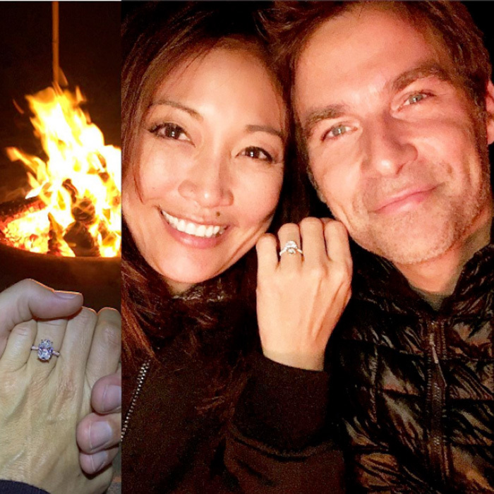 <b>Carrie Ann Inaba and Robb Derringer</b>