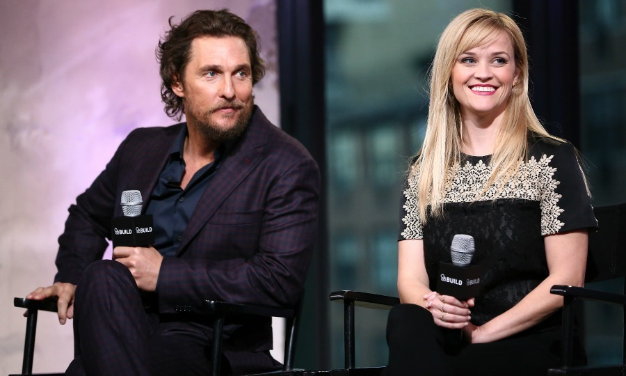 "December 16: <i>Sing</i> stars <a href=""http://us.hellomagazine.com/tags/1/mathew-mcconaughey/""><strong>Matthew McConaughey</strong></a> and <a href=""http://us.hellomagazine.com/tags/1/reese-witherspoon/""><strong>Reese Witherspoon</strong></a> stopped by Build Series in NYC to talk about their latest film. 