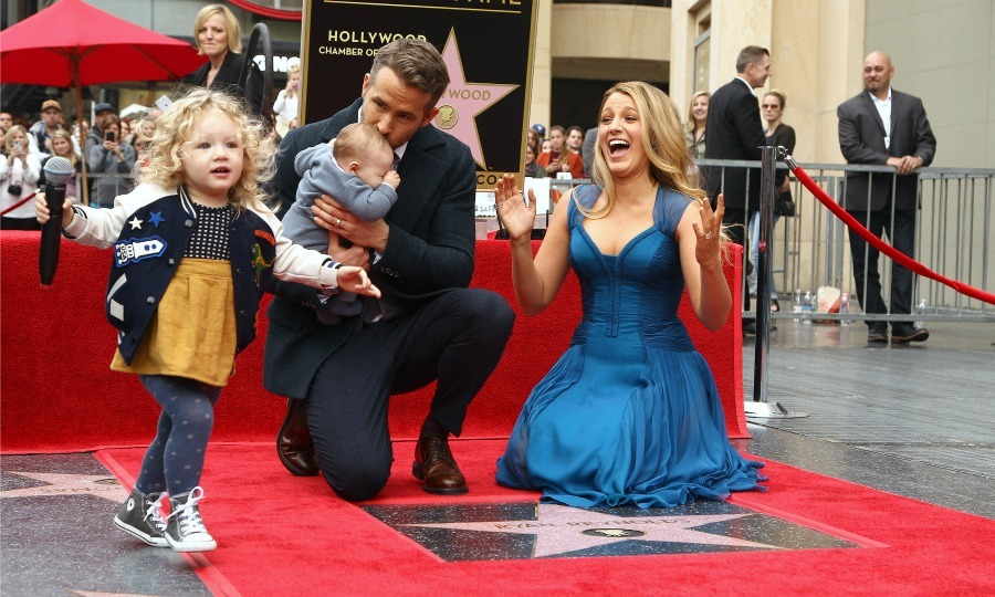 "December 15: <a href=""http://us.hellomagazine.com/tags/1/ryan-reynolds/""><strong>Ryan Reynolds</strong></a> and <a href=""http://us.hellomagazine.com/tags/1/blake-lively/""><strong>Blake Lively</strong></a> introduced the world to their two little girls during the <i>Deadpool</i> actor's Hollywood Walk of Fame ceremony.