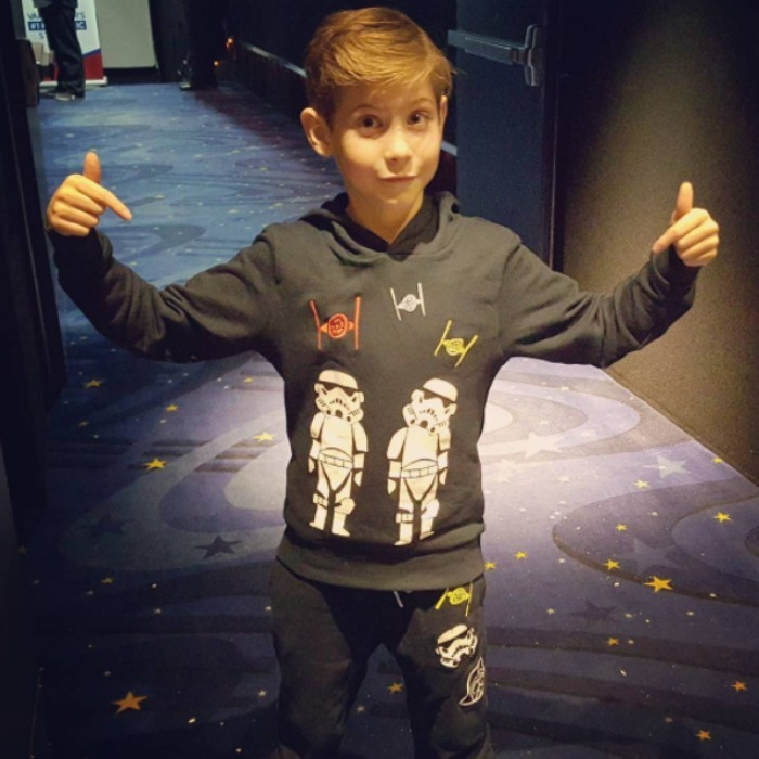 "December 15: <a href=""http://us.hellomagazine.com/tags/1/jacob-tremblay/""><strong>Jacob Tremblay</strong></a> was dressed to theme in his <i>Star Wars</i> pajamas during his trip to watch <i>Rouge One: A Stars Wars Story</i>. 