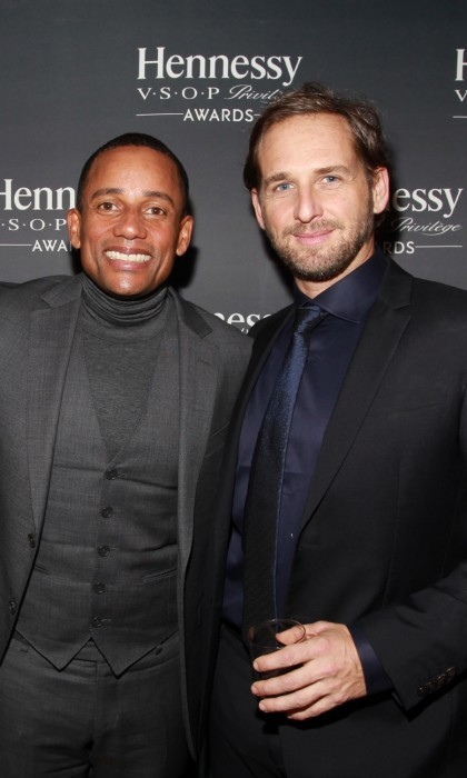 December 15: Hill Harper andJosh Lucas attended the 13th annual Hennessy V.S.O.P Privilège Awards at Sousa House in New York City where Hennessy recognized Hill for his dedication to empowering the next generation of multicultural professionals.