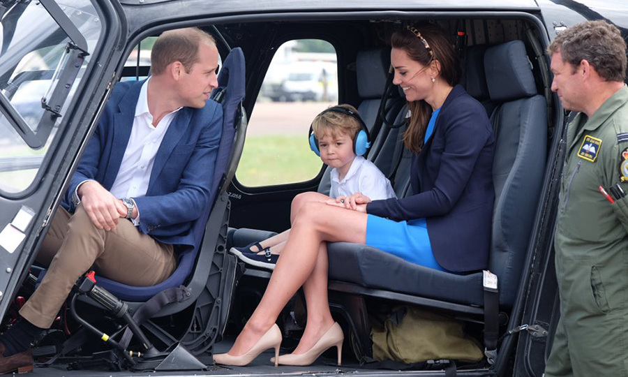 "18. <a href=""http://us.hellomagazine.com/royalty/2016071732443/prince-william-kate-and-prince-george-spend-day-at-sas-anniversary/""><strong>Prince George gets a close-up look at planes during an engagement with mom and dad</strong></a>