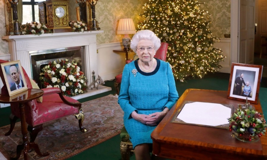 "For the first time in almost 30 years, Queen Elizabeth did not attend church on Christmas day due to a ""heavy cold."" 