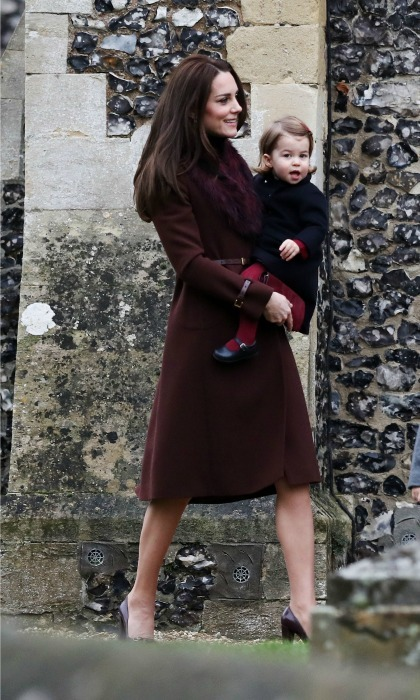 The Duchess of Cambridge shows us how to stay stylish even in the cool temperatures. Want to know exactly what's in her wardrobe this season? Click through for our gallery of all her fall-winter looks!