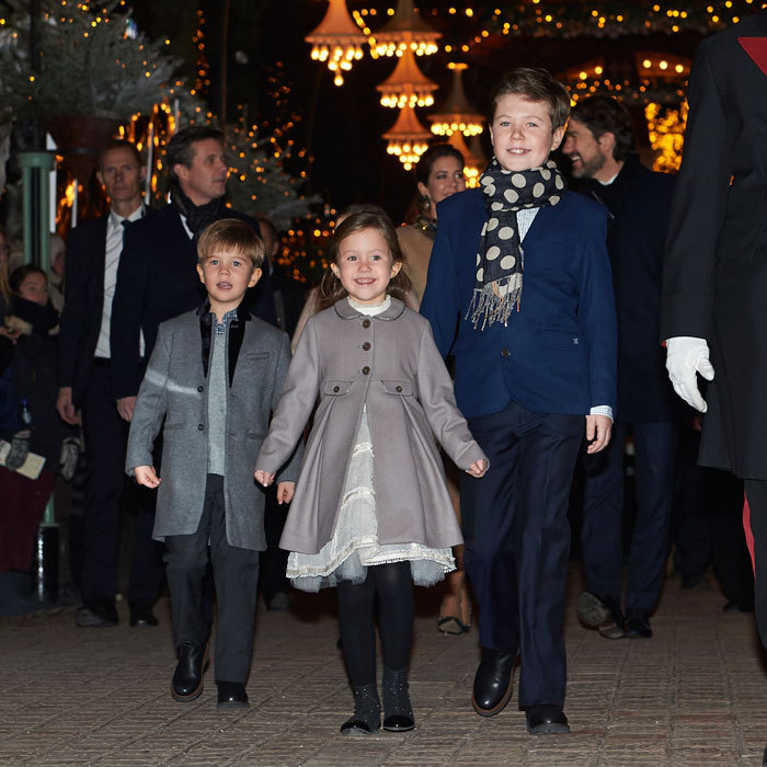 Prince Vincent and Princess Josephine were double the royal cuteness as they were joined by their family, including big brother Prince Christian for the 2016 premiere of The Nutcracker ballet in Copenhagen.