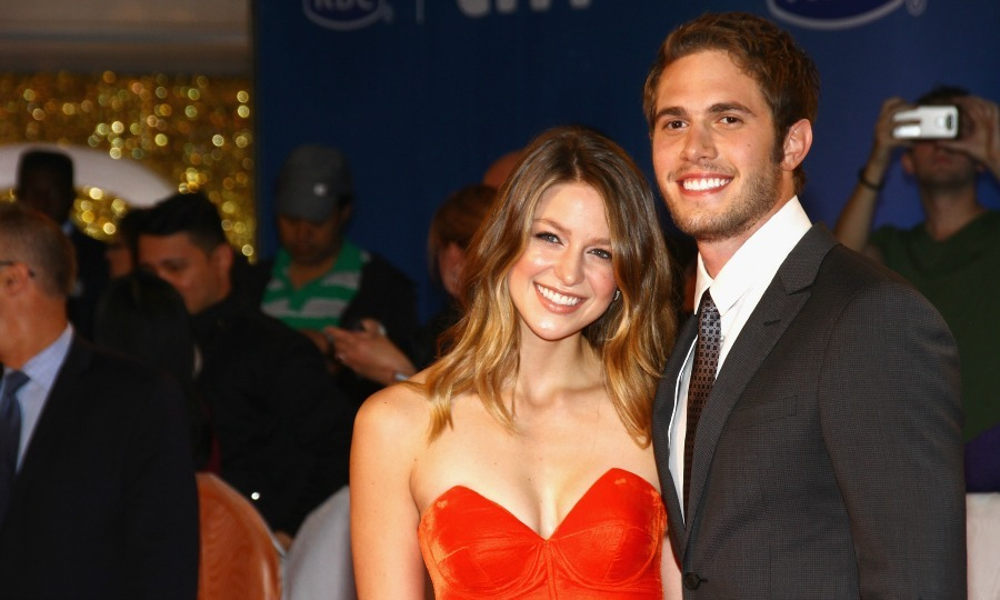 <b>Melissa Benoist and Blake Jenner</b>