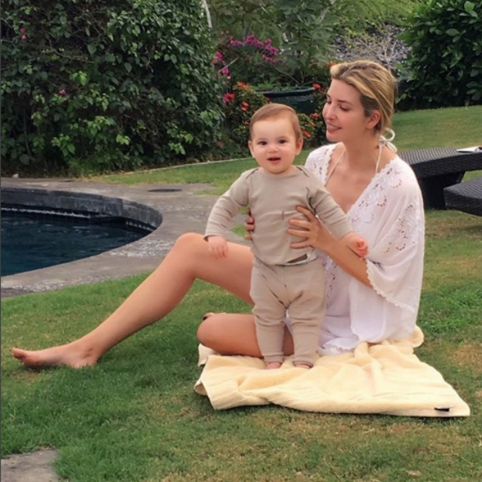 Ivanka and her little man Theo took in some Hawaiian sunshine, while on holiday vacation. 