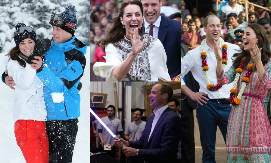 Prince William and Kate Middleton had a nonstop year jetting around the globe. The duo captivated hearts everywhere during their royal tour to India and Bhutan as well as their eight days in Canada. In between, the Duke and Duchess of Cambridge had some fun visiting their numerous patronages in the UK.