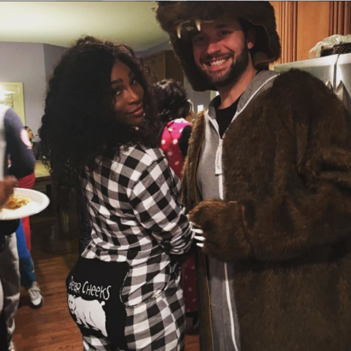<b>Serena Williams and Alexis Ohanian</b>