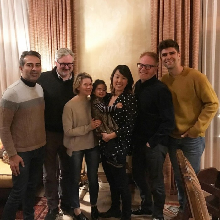 "Jesse Tyler Ferguson spent New Year's with friends at the luxurious Gateway Canyons in Western Colorado. The <i>Modern Family</i> star shared the photo, writing: ""The NYE crew (minus baby William). Feeling so lucky to bring in the new year at @gatewaycanyons with good friends!""