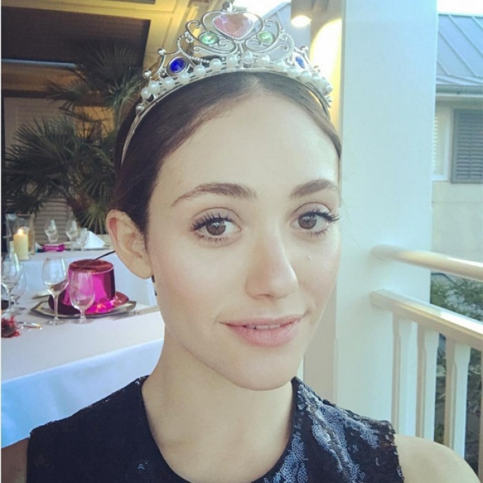 Emmy Rossum welcomed the New Year like a princess. Her and her fiancé spent the holiday vacationing in New Zealand.