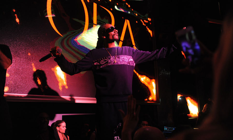 Snoop Dogg rang in the new year at Miami Beach hotspot ORA, where he performed his classics like <i>Gin and Juice</i> and <i>Drop it Like Its Hot</i>.