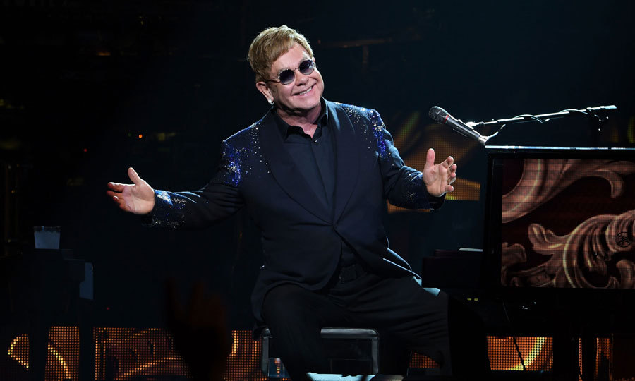 Elton John returned to The Colosseum at Caesars Palace with his critically acclaimed show <i>The Million Dollar Piano</i>.