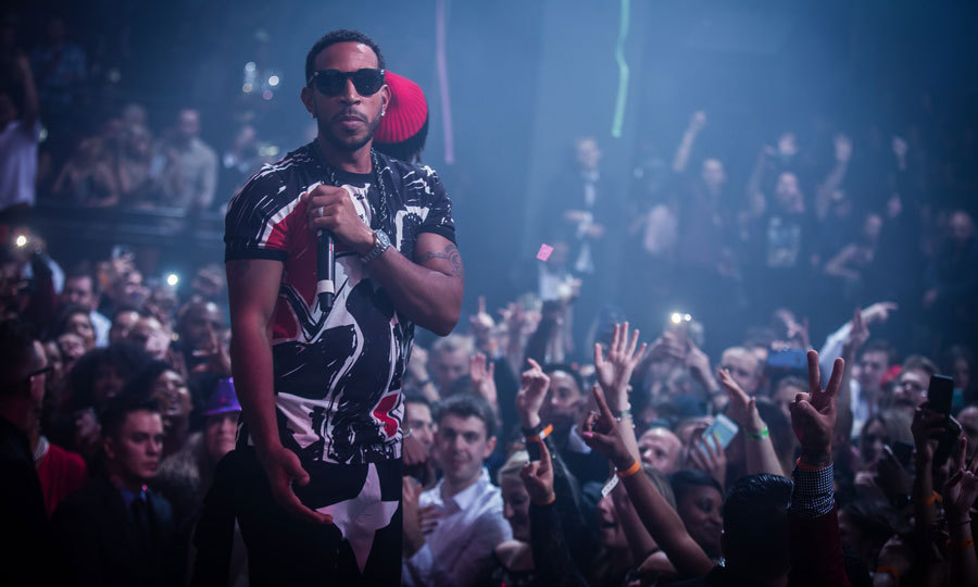 Ludacris returned to LIGHT Nightclub in Las Vegas, where Adam Levine and Behati Prinsloo were among guests. The rapper finished off 2016 by announcing his 2017 residency at the club.