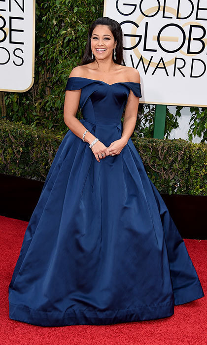 Gina Rodriguez in Zac Posen, 2016