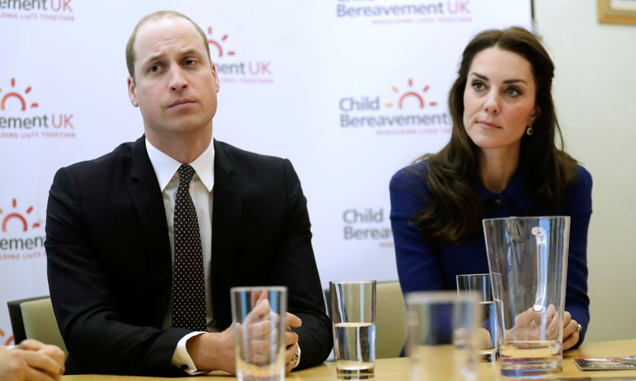 Following a solo engagement earlier in the day, Kate teamed up with her husband Prince William in the afternoon for their first joint engagement of the year at the Child Bereavement UK's centre in Stratford, east London. 