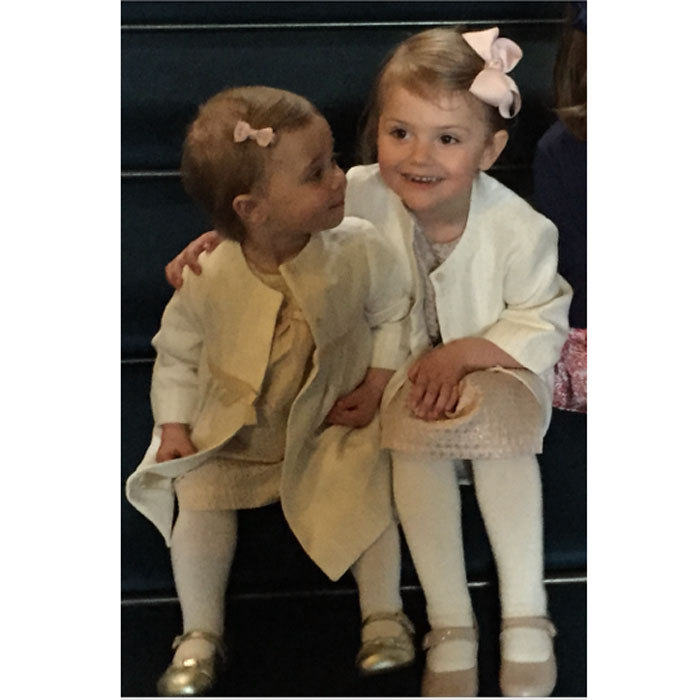 "Alongside a photo of Leonore and Estelle, Princess  Madeleine penned, ""Cousins are friends that will love you forever.""
