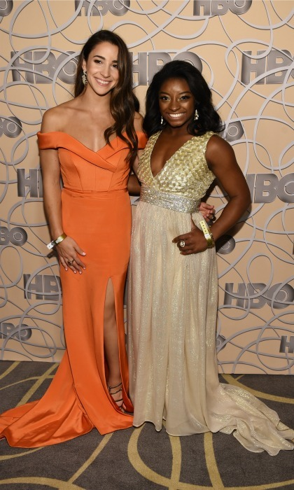 Simone and Aly both said they are thrilled to celebrate their bodies in the dramatic pics. 