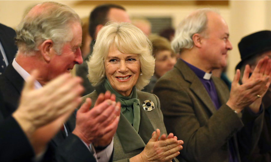 Prince Charles and the Duchess of Cornwall attended a musical performance of Robert Burns poetry, during their visit to Ballater, Scotland. 