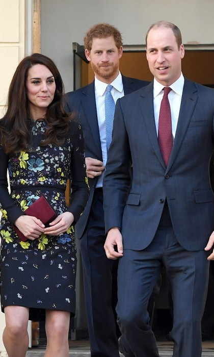 Prince Harry joined his brother Prince William and Kate Middleton for their first engagement together in 2017. The trio visited ICA to discuss Heads Together along with the Virgin Money London Marathon.