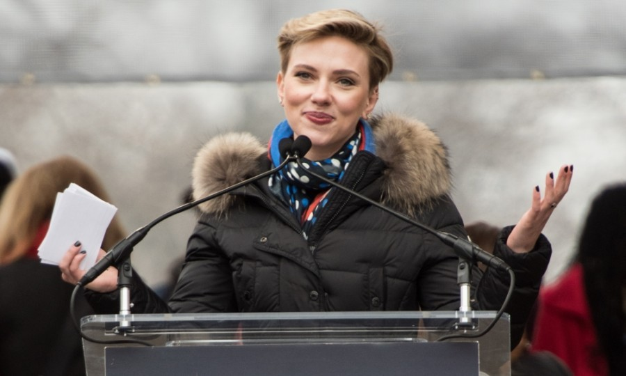 Scarlett Johansson also empowered the masses with a speech. The actress attended the Women's March on Washington in D.C. 