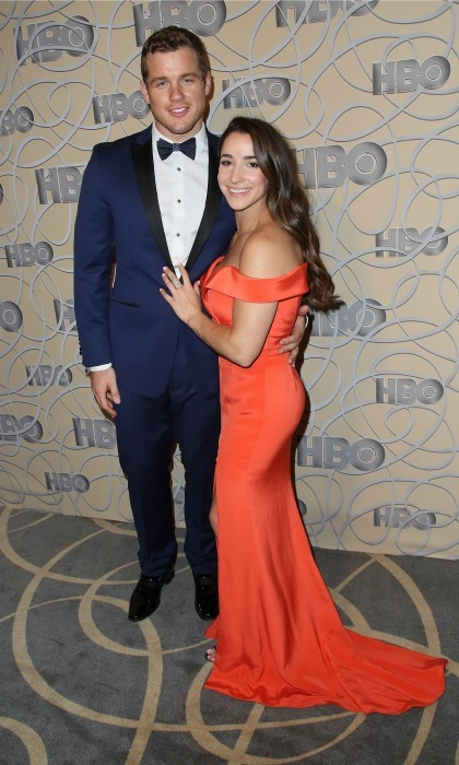 <b>Aly Raisman and Colton Underwood</b>