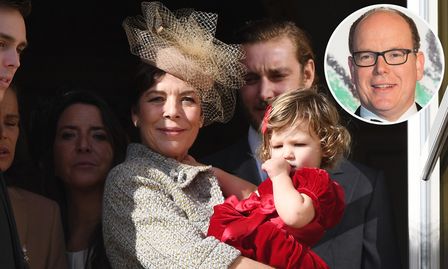Princess Caroline celebrates her 60th birthday with Prince Albert and her children