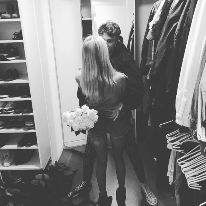 <b>Anwar Hadid and Nicola Peltz</b>