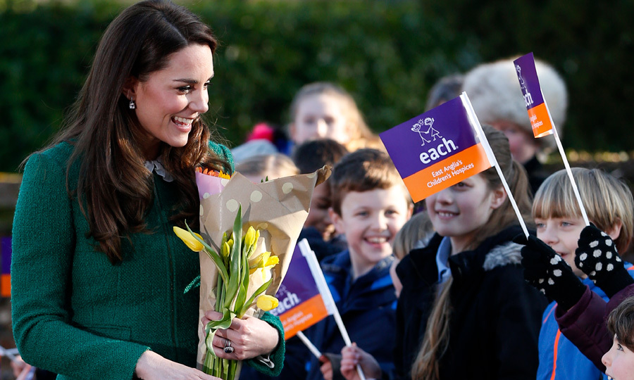 Kate Middleton paid a visit to one of the East Anglia's Children's Hospices facilities in Quidenham, Norwich on January 24. The royal, who is a patron of the charity, was on hand to visit the facility that supports families and cares for children across Norfolk.