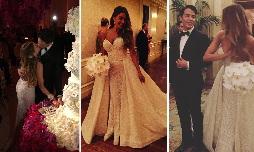 Sofia Vergara was on cloud nine following her wedding to Joe Manganiello! 