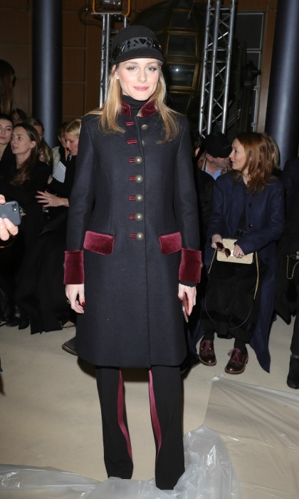 Olivia Palermo served up military style during the Alexis Mabille Haute Couture Spring Summer 2017 show. 