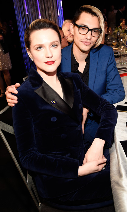 <b>Evan Rachel Wood and Zach Villa</b>