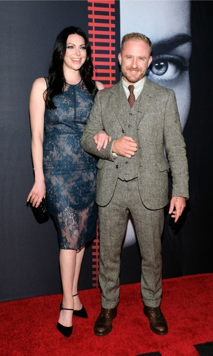 <b>Laura Prepon and Ben Foster</b>