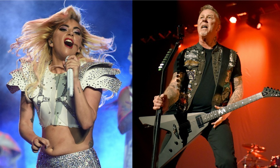 <b>Lady Gaga and Metallica</b>