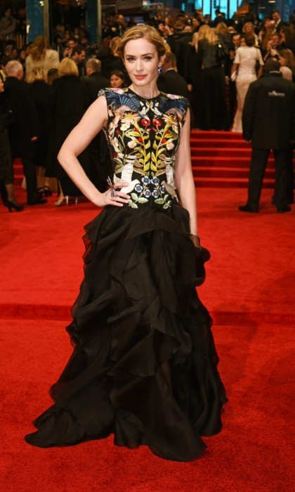 <b>Emily Blunt</b> - Alexander McQueen