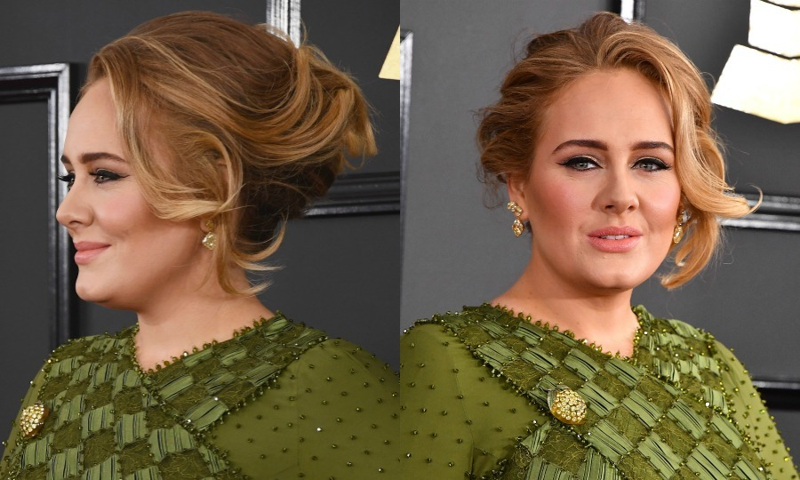 "The singer's hairstylist Chris Appleton said, ""I was inspired by how glam Adele is but I wanted to keep the look soft and natural.