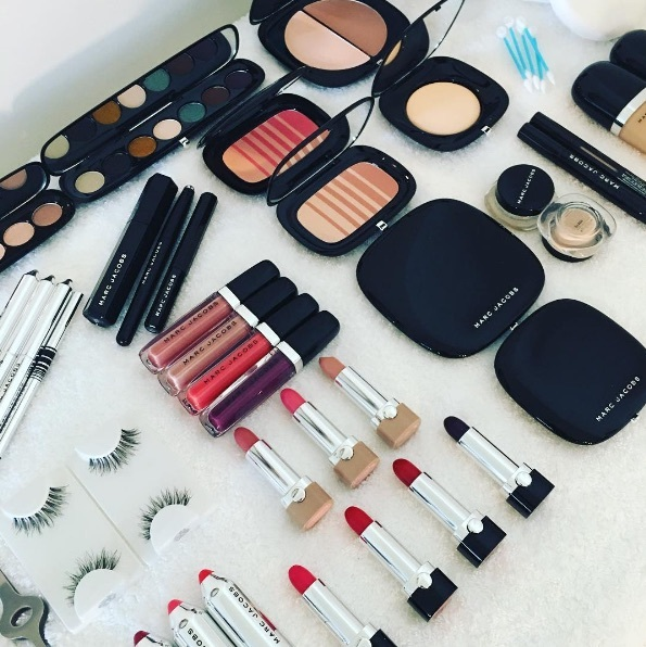A look at the products used for Adele's makeup.
