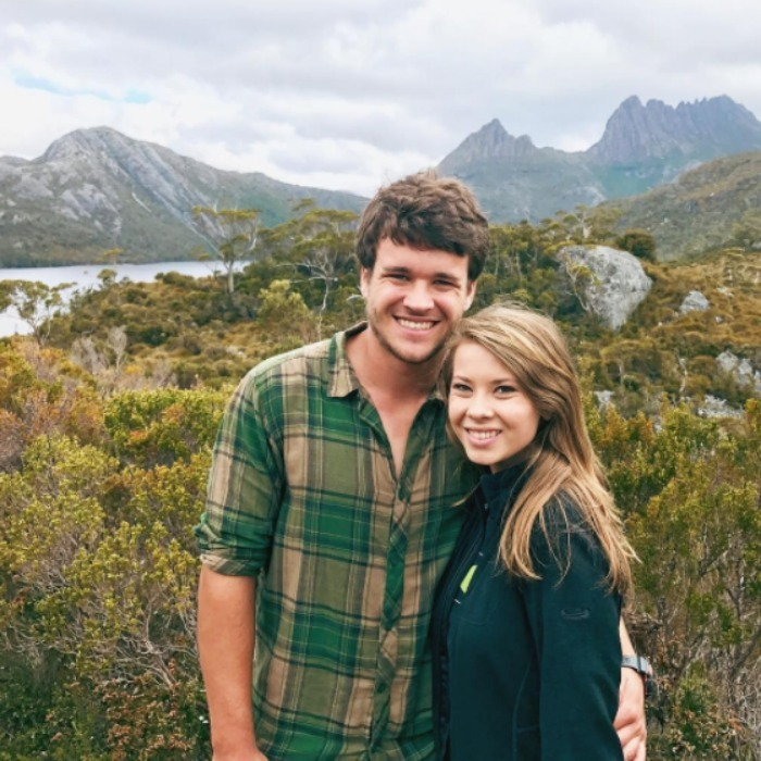 "Bindi Irwin showed off her ""Forever Valentine,"" Chandler Powell. 