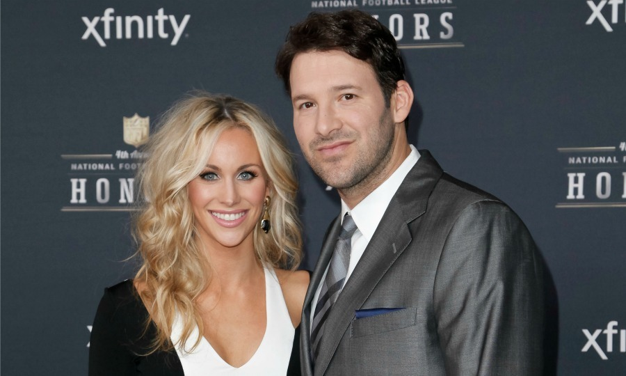 <b>Tony and Candice Romo</b> 
