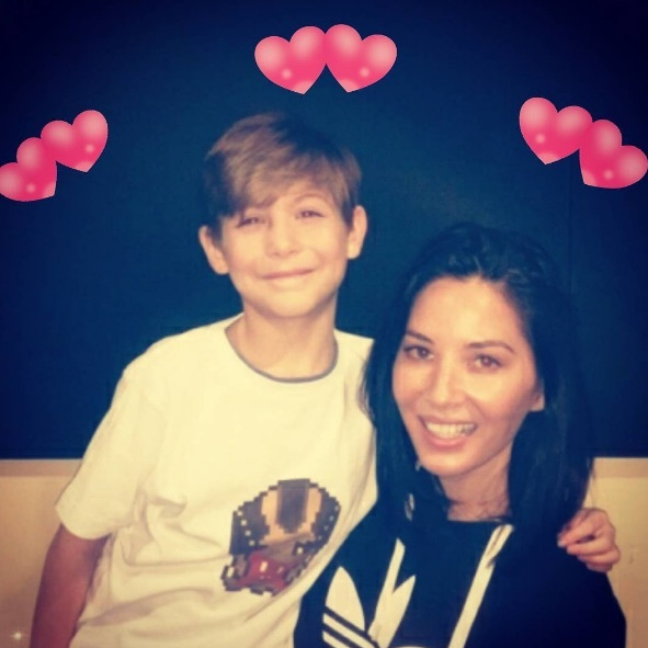 "Looks like Olivia Munn has a new Valentine. Jacob Tremblay posted this photo on February 14, 2017 with the caption: ""Meet my new #valentine  @OliviaMunn! #Sorry #AaronRodgers!  #ThePredator #HappyValentinesDay!!!""
