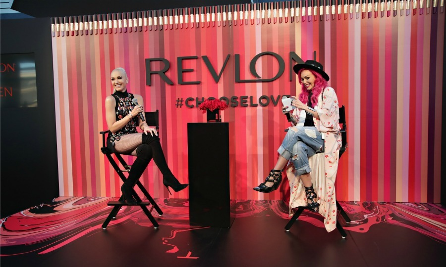 "February 14: Kandee Johnson moderated a Q&A with Revlon Global Brand Ambassador (and Blake Shelton's Valentine)  <a href=""http://us.hellomagazine.com/tags/1/gwen-stefani/""><strong>Gwen Stefani</strong></a> at the Choose Love Valentine's Day event in NYC. 