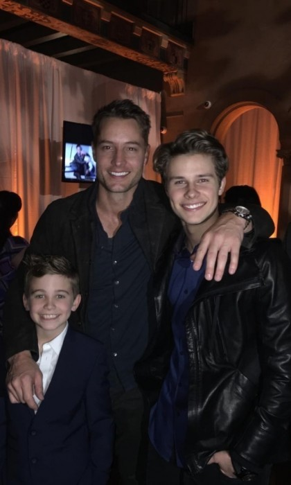 February 16: The cast of <i>This Is Us</i> celebrated the completion of filming their first season with a bash at the Hollywood Roosevelt Hotel in L.A. 