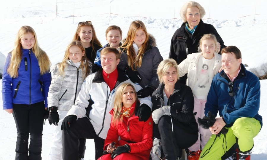 Queen Máxima and King Willem-Alexander of the Netherlands enjoyed some family fun time on their annual ski holiday in February 2016. The Dutch royals traditionally hit the slopes in the picturesque resort of Lech, Austria.