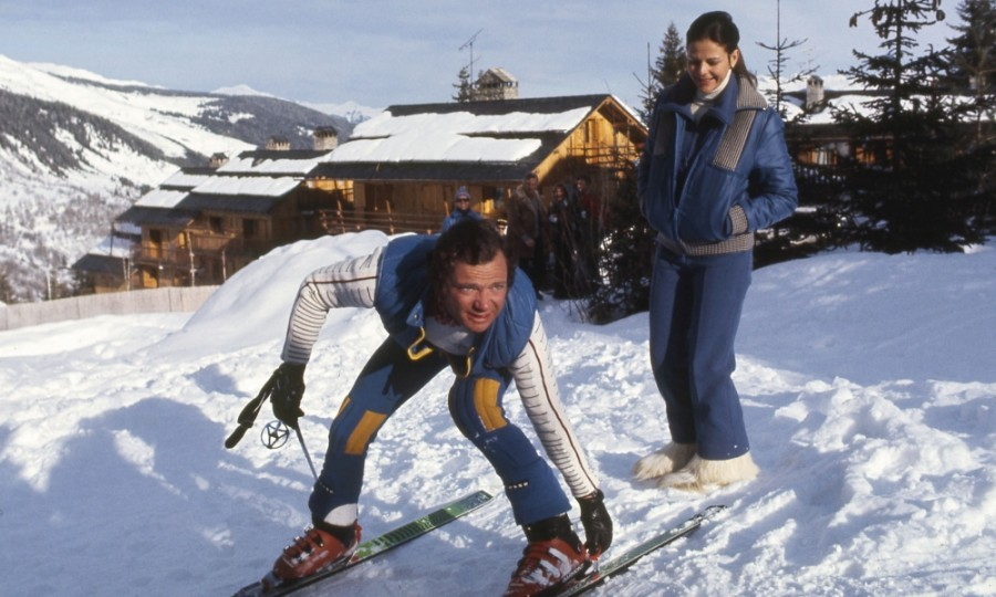 Major throwback! In January of 1977, King Carl XVI Gustav and Queen Silvia of Sweden took a ski trip to Switzerland.