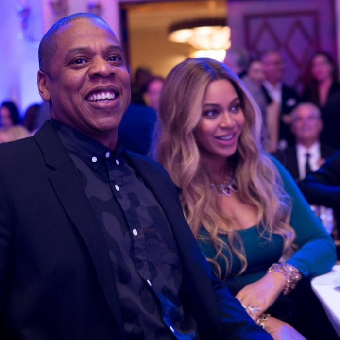 February 25: Date night! Beyoncé and Jay-Z, along with Hollywood's A-list, gathered at The Weinstein Company's annual pre-Academy Awards dinner. The Grey Goose sponsored event, which took place at the Montage Beverly Hills, aimed to toast the 2017 nominees. Guests also included: Nicole Kidman, Dev Patel, Alyssa Milano, Lin Manual Miranda, Zac Posen and Tracee Ellis Ross.