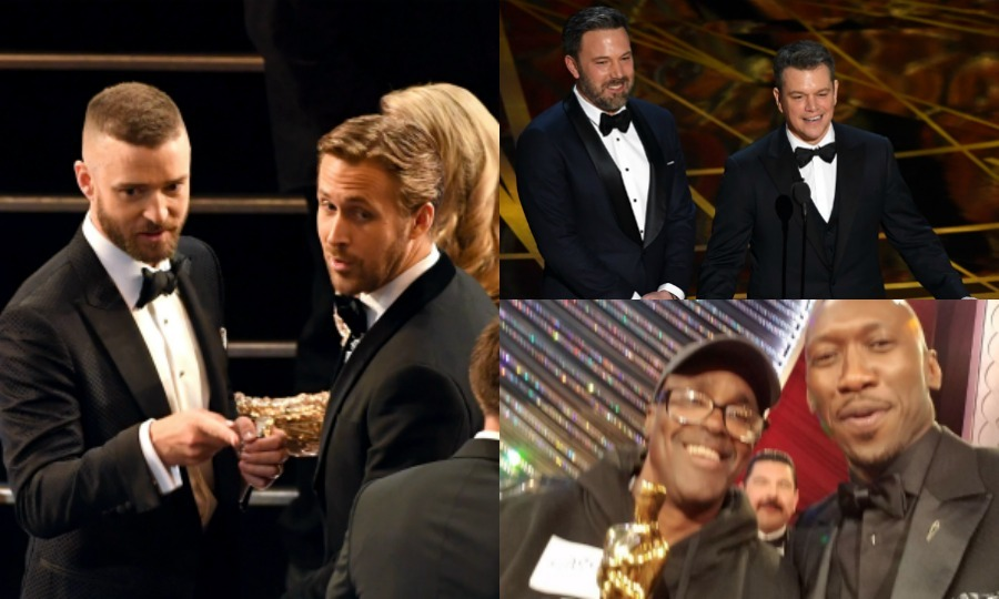 "During the almost four hour show, the stars brought the tears, the laughter and the did  <i>that</i> just happen moments at the <a href=""http://us.hellomagazine.com/tags/1/oscars-2017/""><strong>Academy Awards</strong></a>.