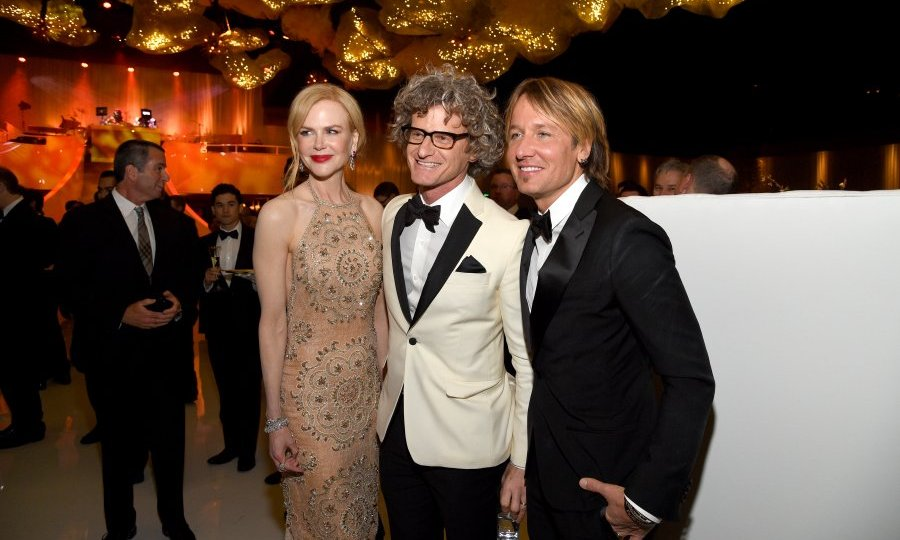 Husband and wife team Nicole Kidman and Keith Urban joined Mark Malkin at the 89th Annual Academy Awards Governors Ball.
