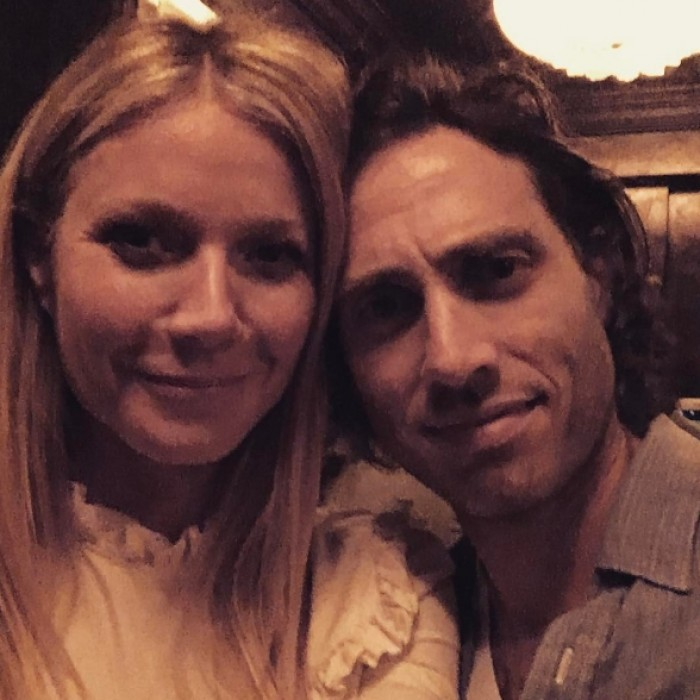 <b>Gwyneth Paltrow and Brad Falchuk</b>