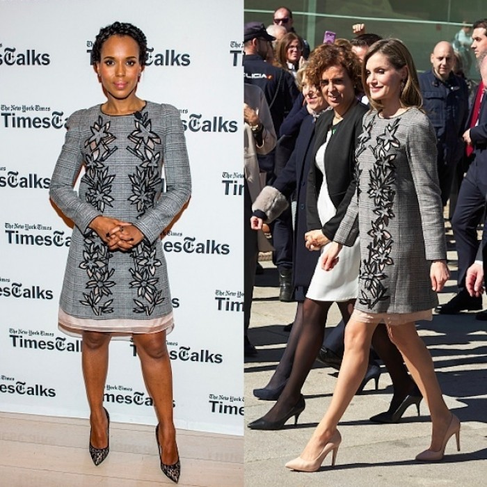 <b>Queen Letizia and Kerry Washington</b>