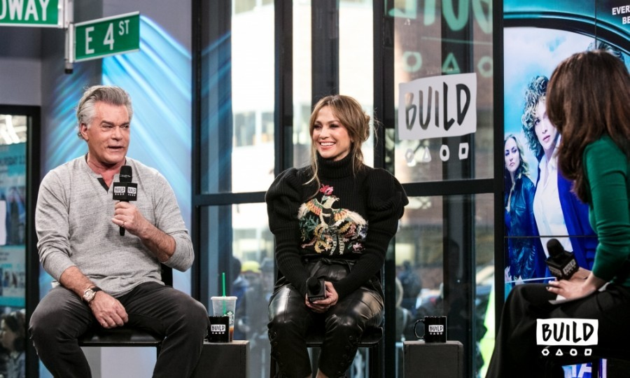"March 2: Shades of BUILD! Co-stars Jennifer Lopez and Ray Liotta dropped by BUILD Series NYC to discuss the second season of their NBC show <i>Shades of Blue</i>. Clad in a Zuhair Murad sweater, the 47-year-old actress talked about how she loves filming in New York City because it feels like home. ""It takes me way back,"" she said. ""As an actor that really helps.""